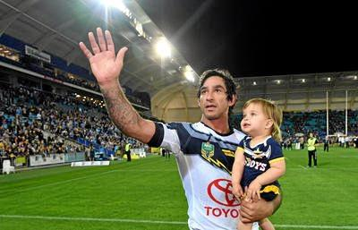 Johnathan Thurston is championing the idea of Ipswich hosting an NRL team.