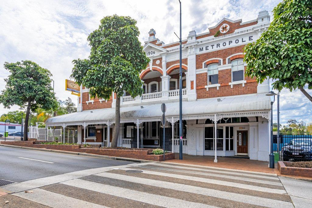 253 Brisbane St, Ipswich, the Hotel Metropole is poised to sell for the sixth time in the past decade.