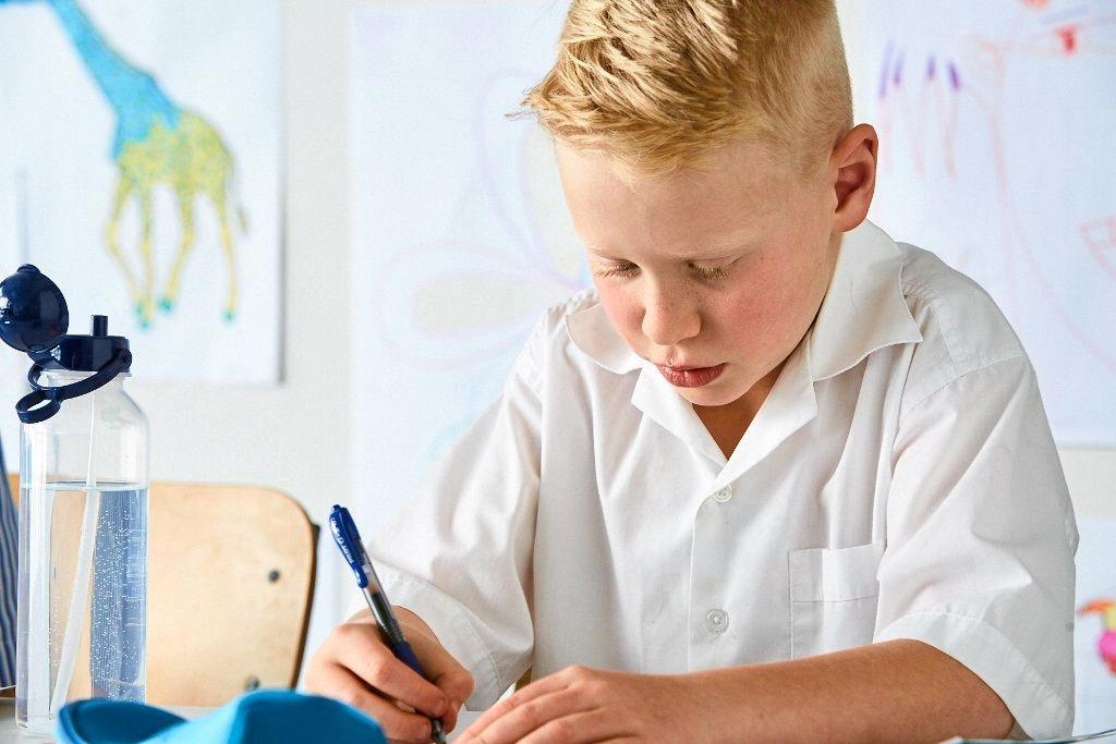 Generic image of school student supplied by Pilot Pen.