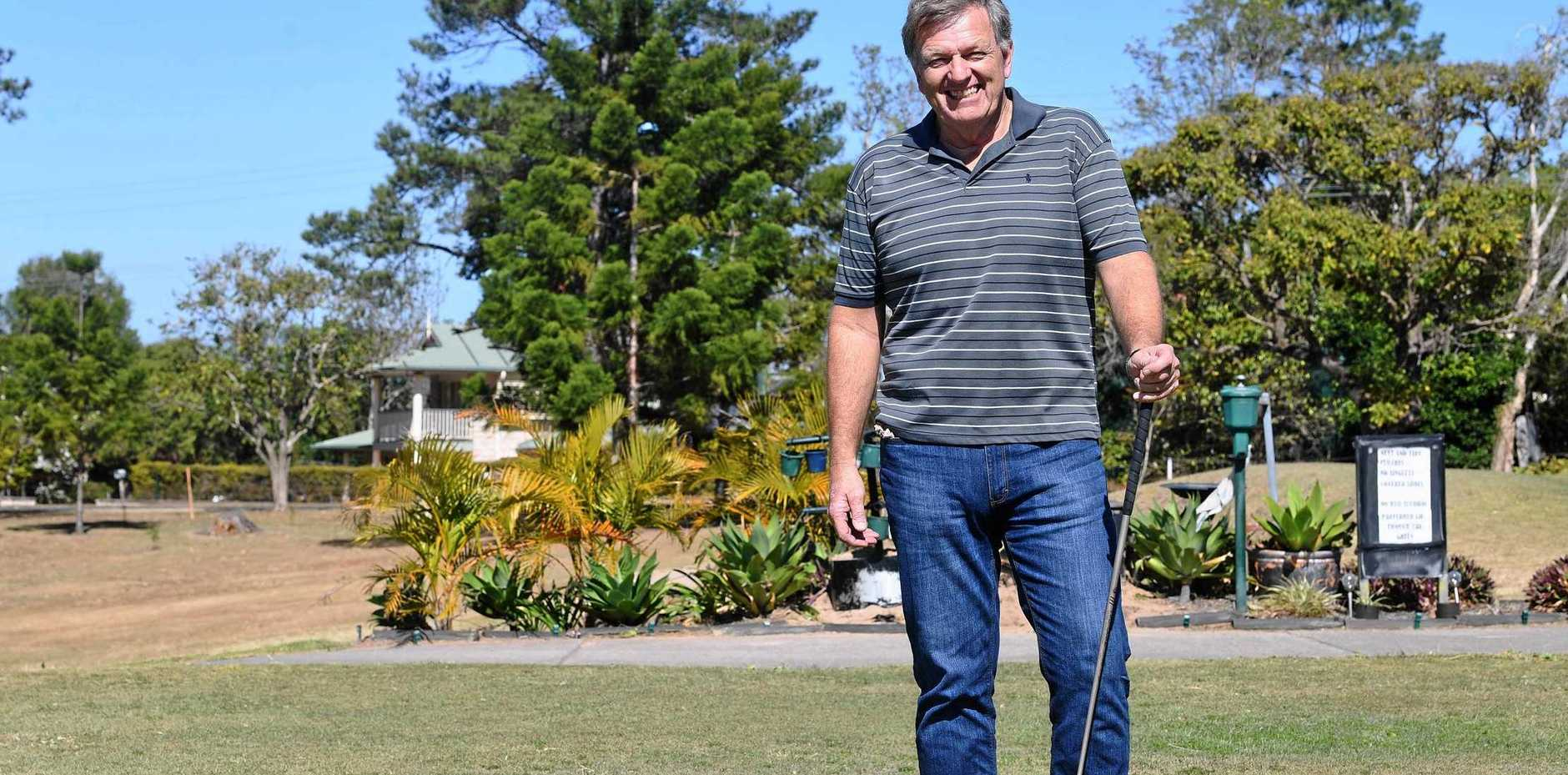 NEW OWNER: Gympie Golf Course new owner Phil Goodman is looking forward to his venture at the club.