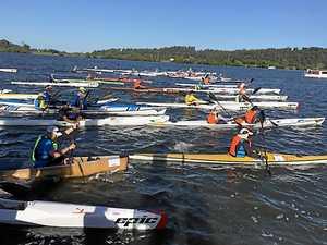 Marathon paddle for mates turns into leading sports event
