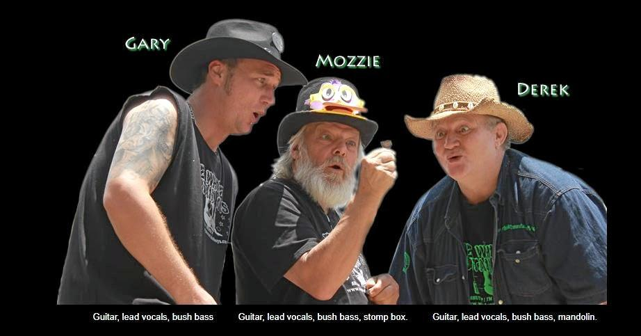 The Whiskey Mountain Boys will be performing at the Tin Can Bay Country Club on Friday night.