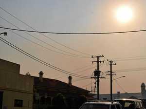 ADVICE: Lake Cooloola fire envelops Gympie with smoke