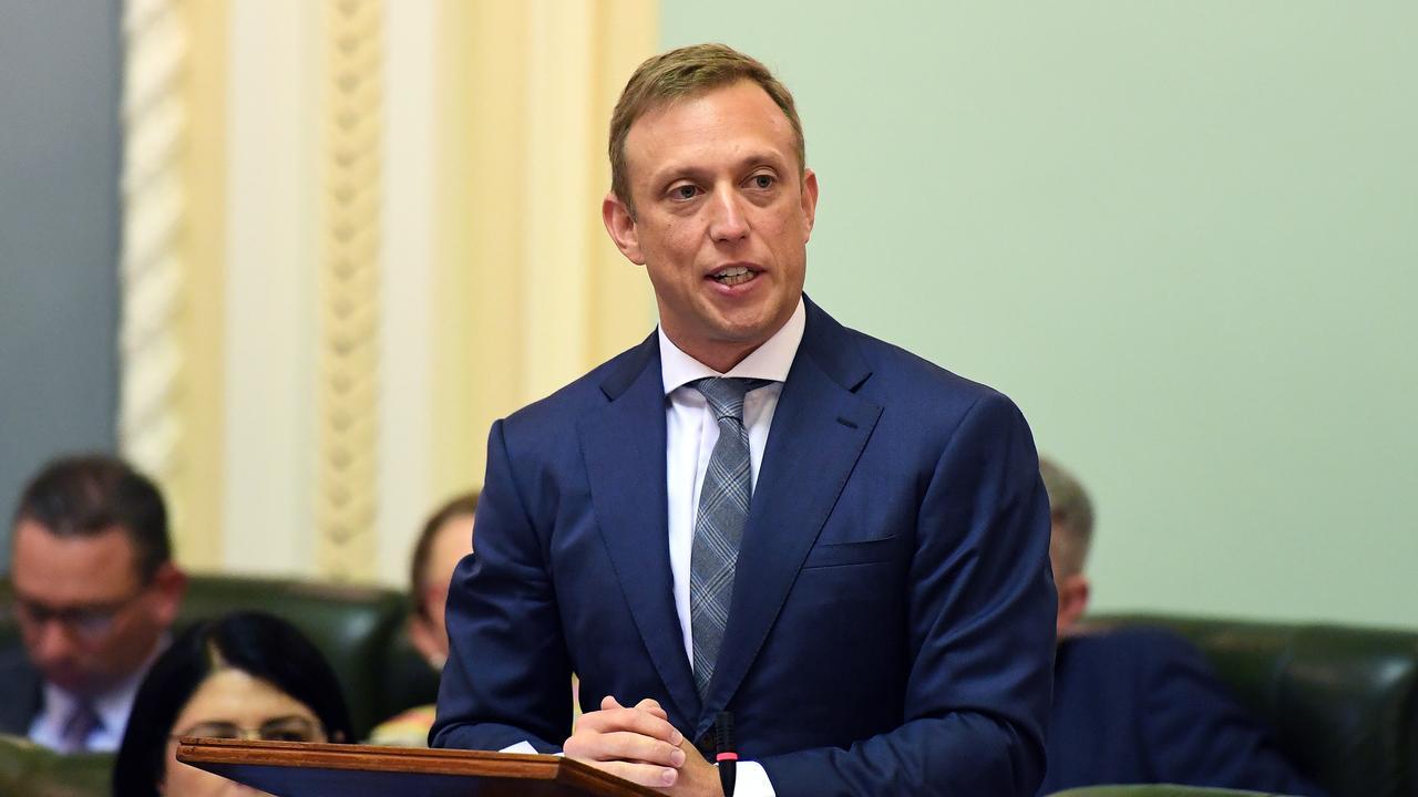 Queensland Health Minister Steven Miles (AAP Image/Dan Peled)