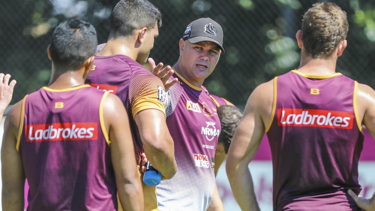 Can Anthony Seibold get his players to take ownership? Photo: AAP Image/Glenn Hunt