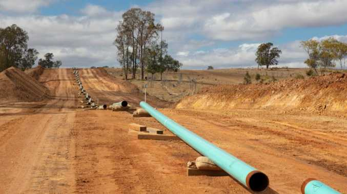 $750m gas project reached significant milestone