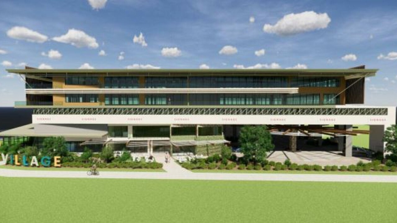 PROPOSAL: The new ComLink headquarters proposed for the Kawana Town Centre.