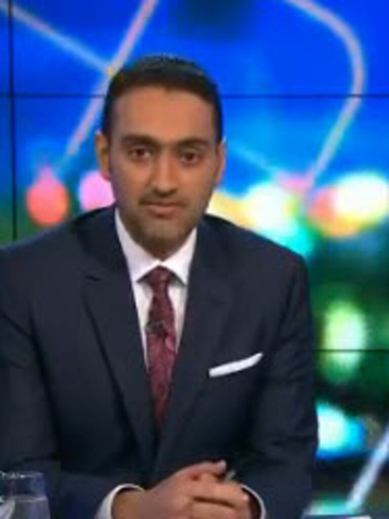 Waleed Aly led the tributes on The Project.