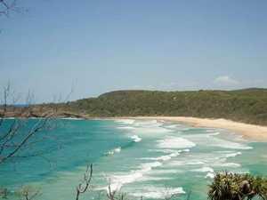 Tourist 'taming' a Biosphere winner