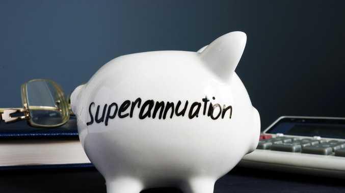 Our super balances well below average