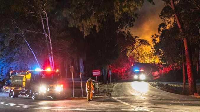 Bushfire threat level decreased