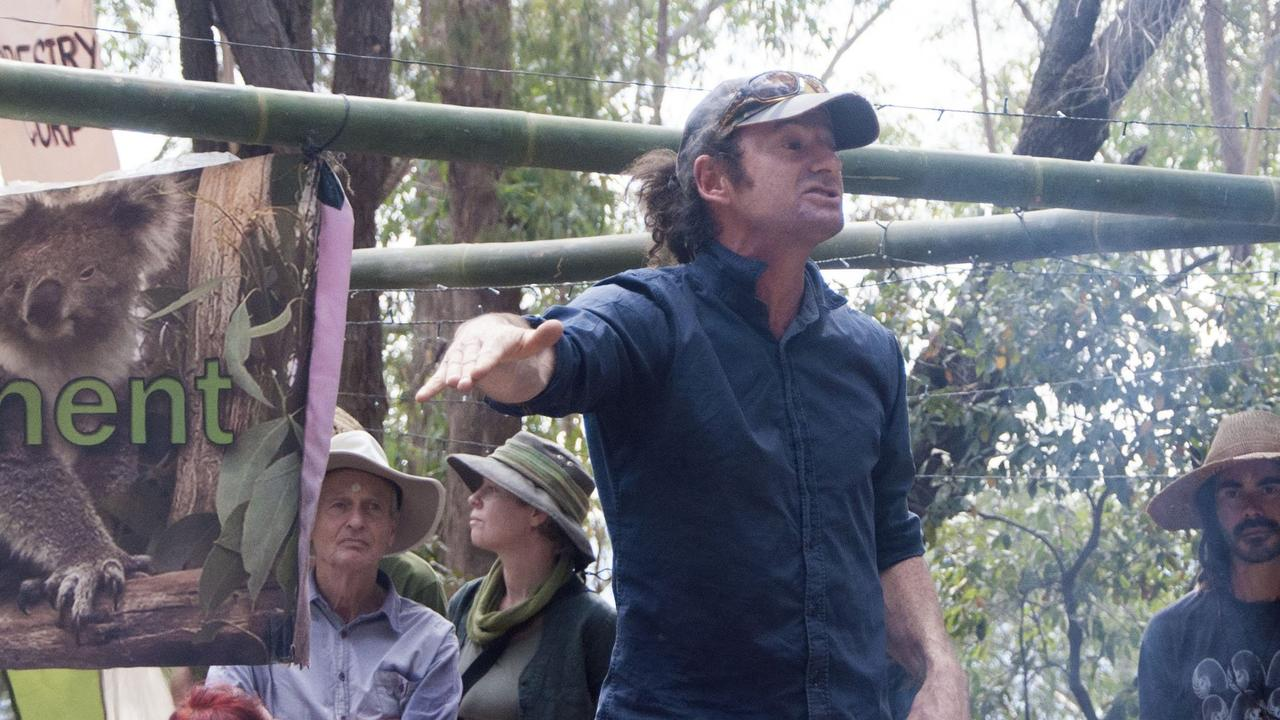 Mark Graham, pictured at the 'Biodiversity Embassy' in the Kalang Headwaters last month.