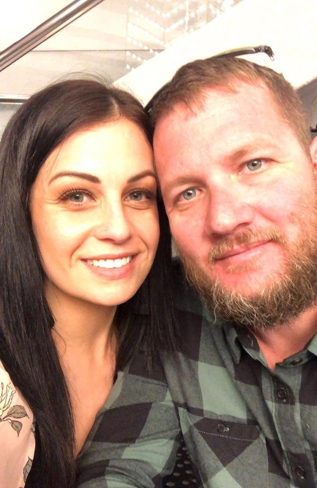 Jack Gray and his fiancee Karissa Wright.