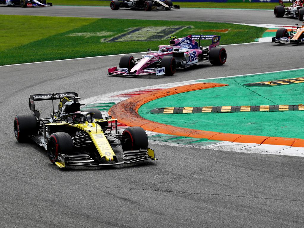 Daniel Ricciardo had his best weekend at the Italian Grand Prix.