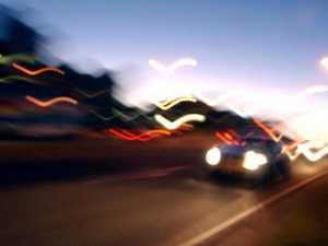 Road workers bring down drunk carjacker