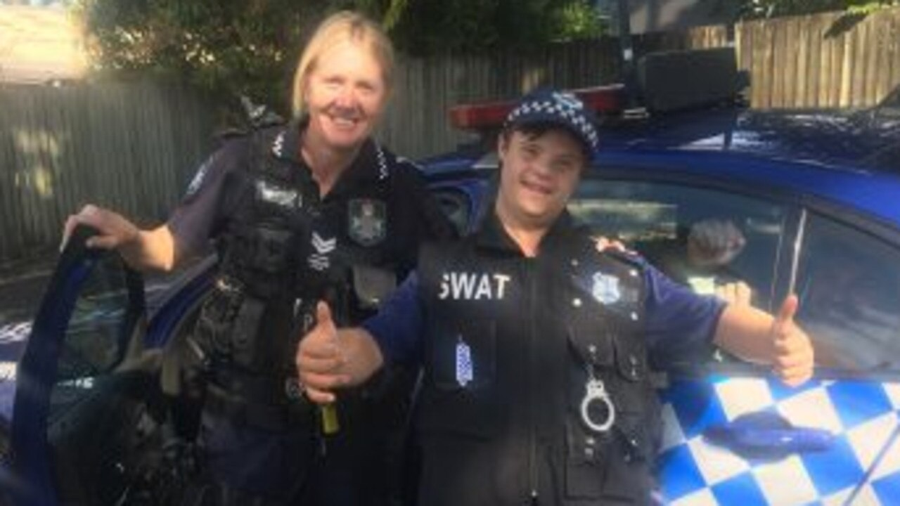 OFFICER RYAN: Ryan had the birthday of his dreams thanks to Nambour police officers.