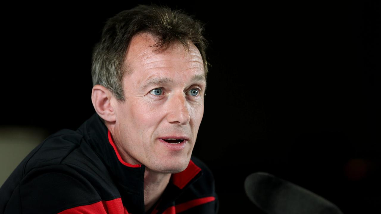 Wales backs coach Rob Howley.