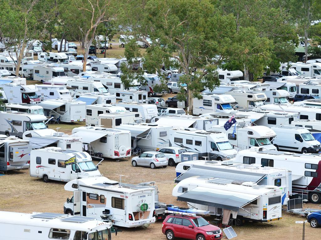 Record numbers of retirees and also young families are buying caravans.