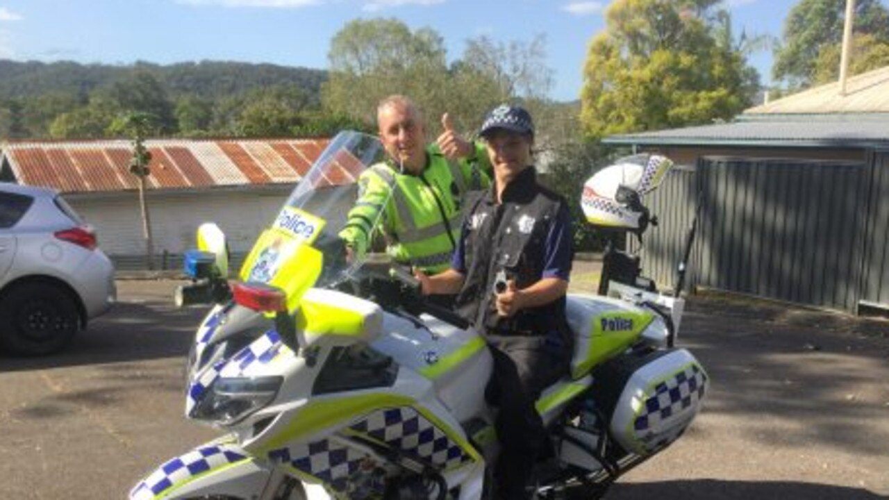 Ryan had the birthday of his dreams thanks to Nambour police officers.