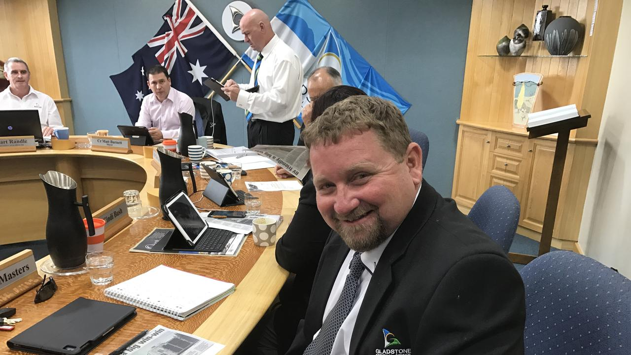 Councillor Peter Masters - Gladstone Regional Council.