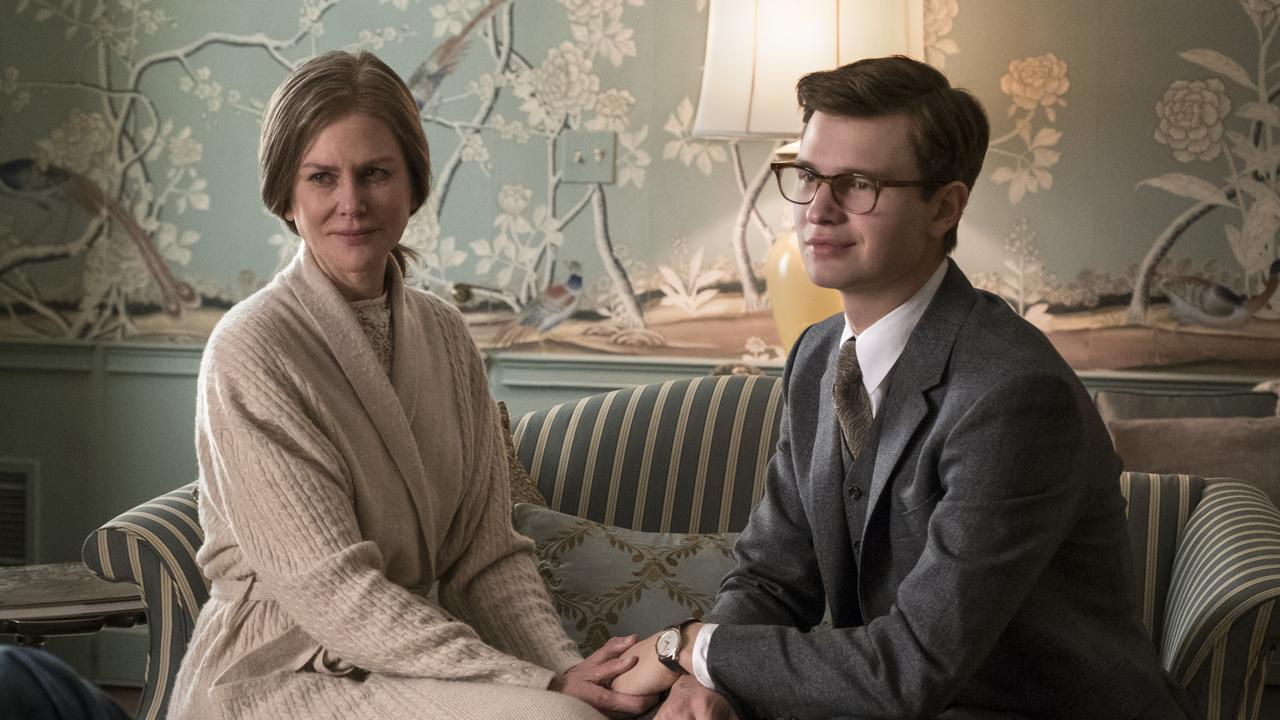 Nicole Kidman and Ansel Elgort in The Goldfinch. Picture: Nicole Rivelli/Warner Bros Pictures/AP