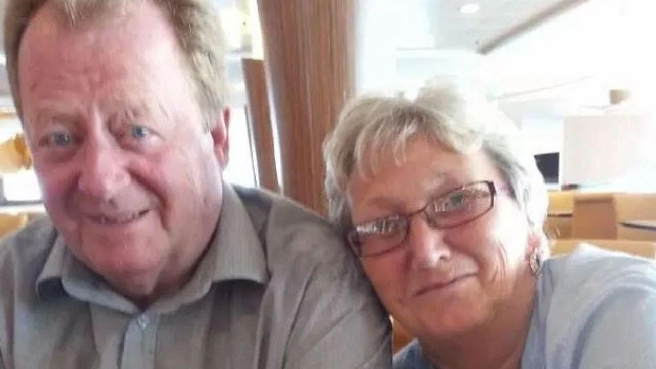Retired British couple Roger and Susan Clarke deny the charges against them