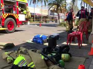 Suspected bomb at Mullumbimby