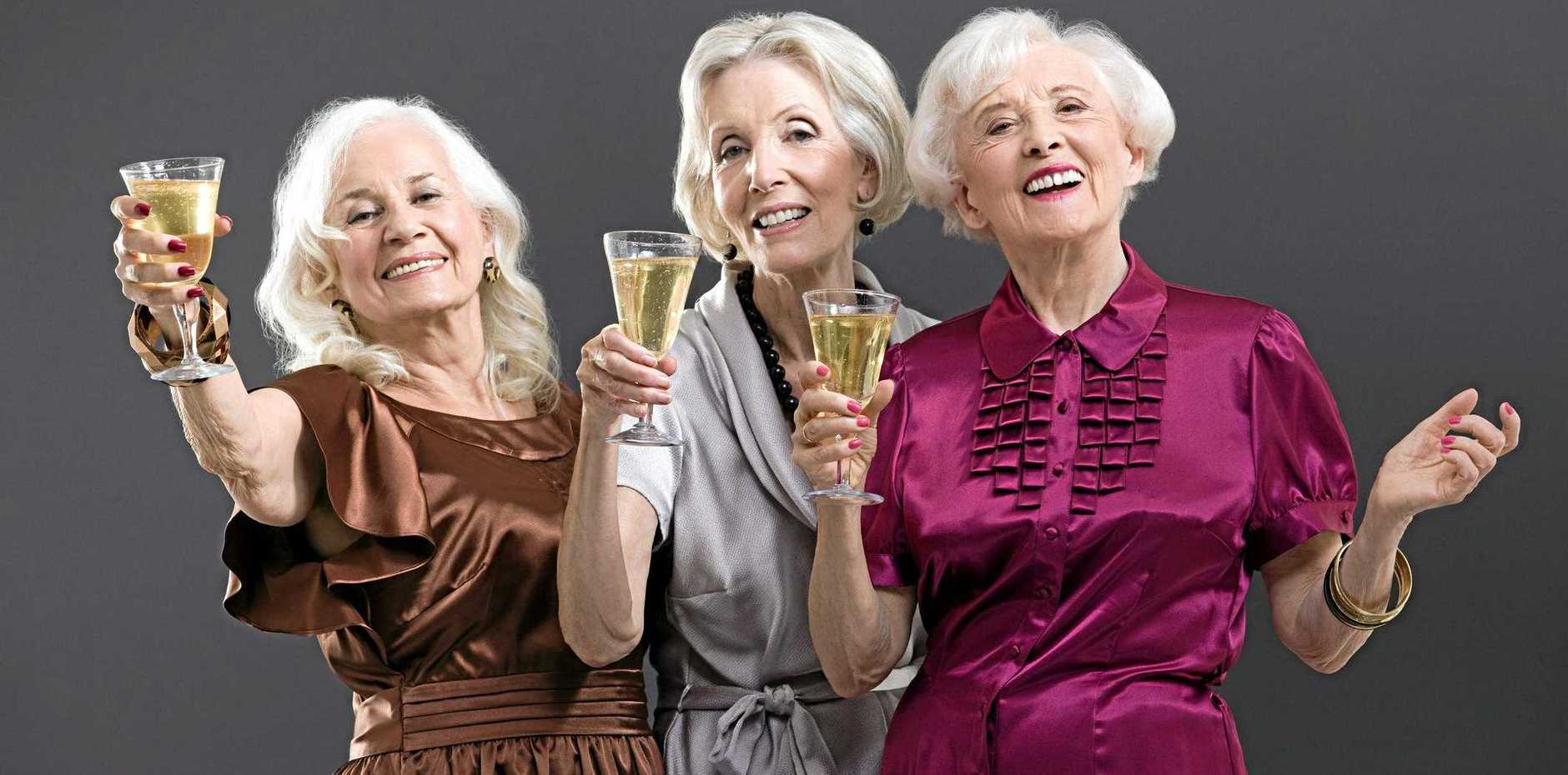 BOLD HAIR: Baby Boomer are goddesses in their own right and have really learnt who they are and what they want