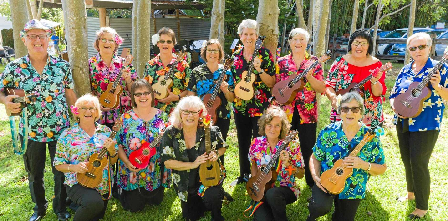 Khristina Joy and the Z Chords an enthusiastic and talented group of singers and ukulele players, Douglas Vale Historic Homestead and Vineyard will host a Garden Party with a difference as part of National Gardening Week - October 13-19.