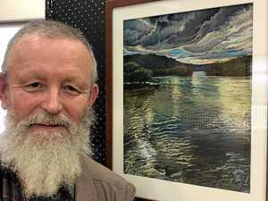 Retirement awakens winning artist's passion