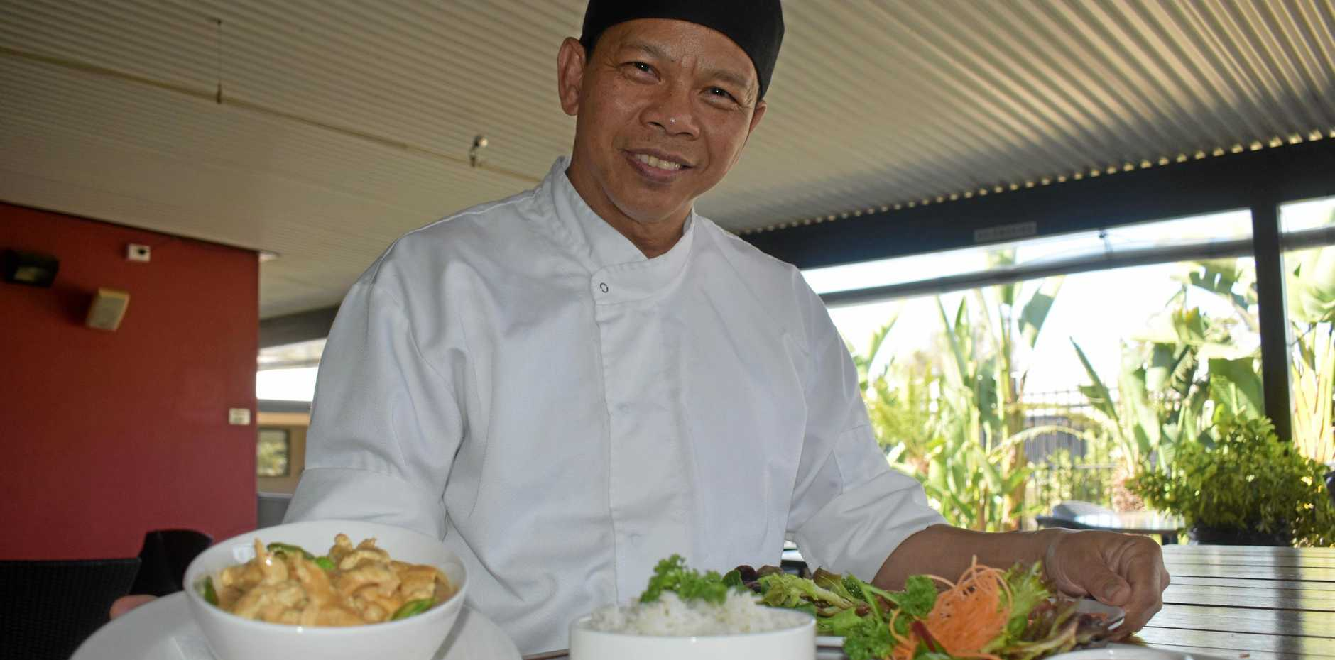 Simon Lee is the new chef at Roma's BCs restaurant. Specialising in Asian flavours, he is looking forward to his new life in Roma.