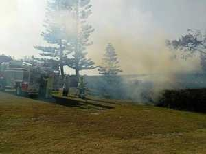 GYMPIE FIRE DANGER: Some easing but fires still spreading