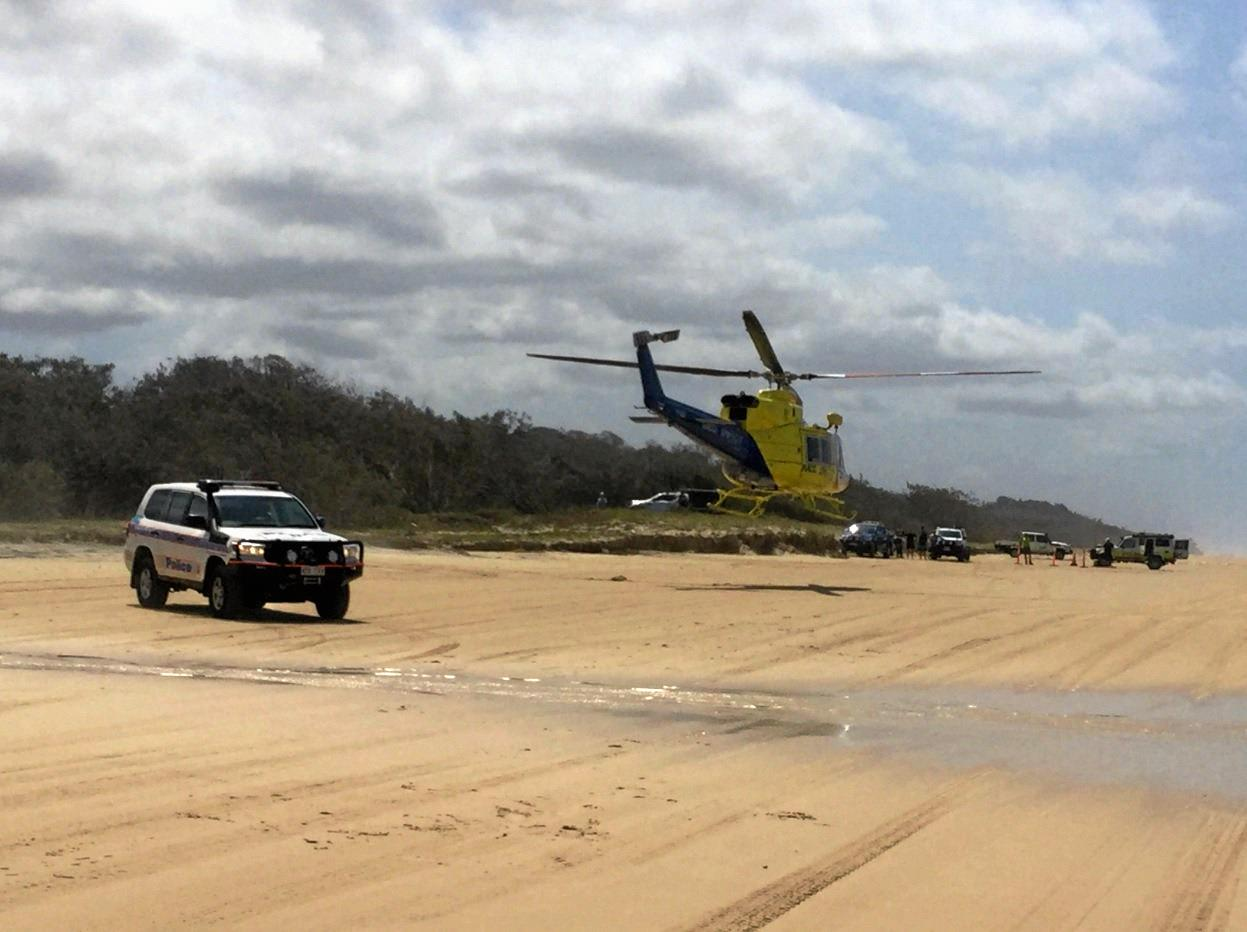 Queensland Police have warned drivers not to drive recklessly on Fraser Island.