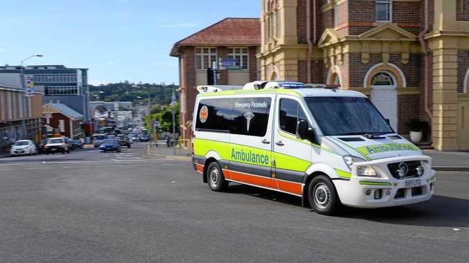 Man sufferes serious head injury in crash