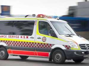 Truck driver suffers head injuries after Bruxner Hwy crash