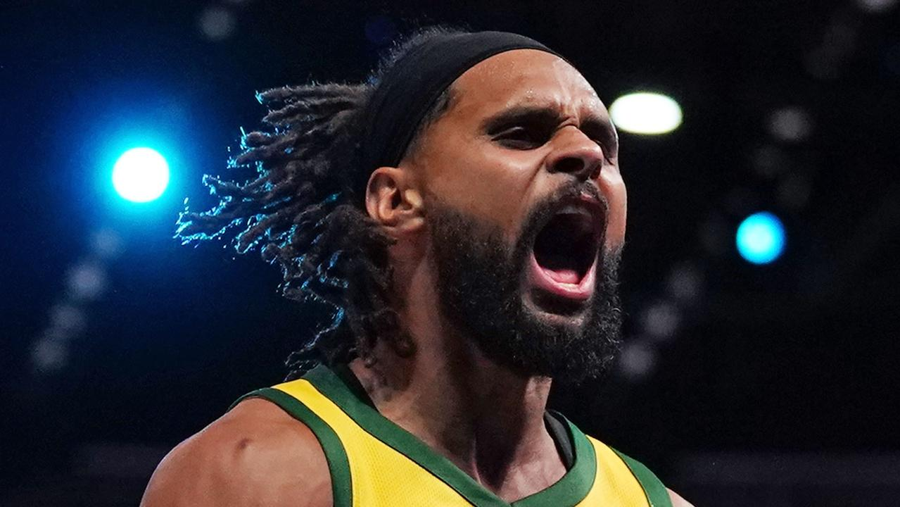 Patty Mills was the standout performer for the Boomers at the World Cup. Picture: AAP