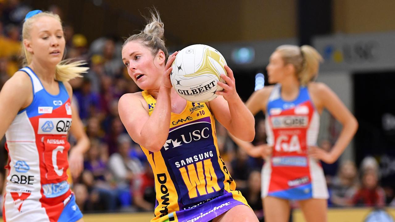 GREAT SEASON. Lightning's Laura Scherian. Photo: Patrick Woods / Sunshine Coast Daily.
