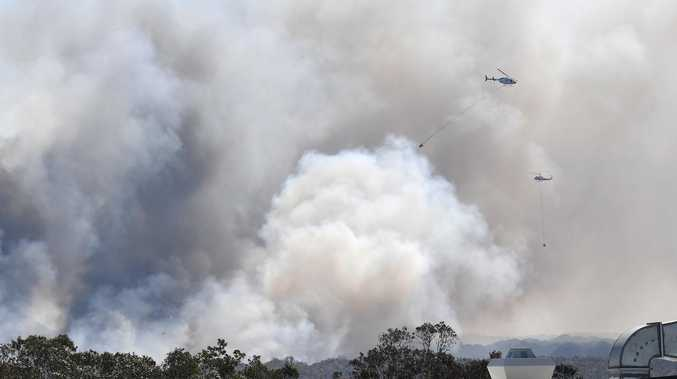 Fire ban extended as crews monitor blazes across Noosa region