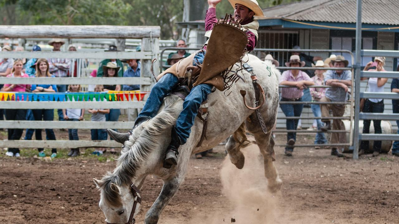 HOLD ON TIGHT: The Kenilworth Show and Rodeo is back in town, celebrating 100 great years in the community. Picture: Contributed
