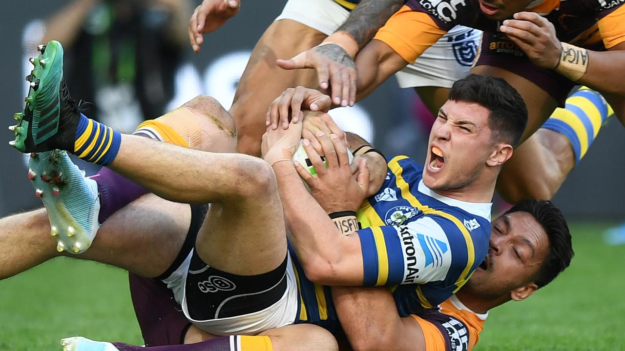 Mitchell Moses is believed to be in the sights of Brisbane. Picture: Joel Carrett