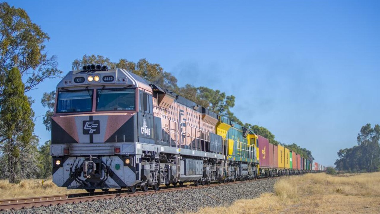 The Inland Rail realignment is a $10 billion project.