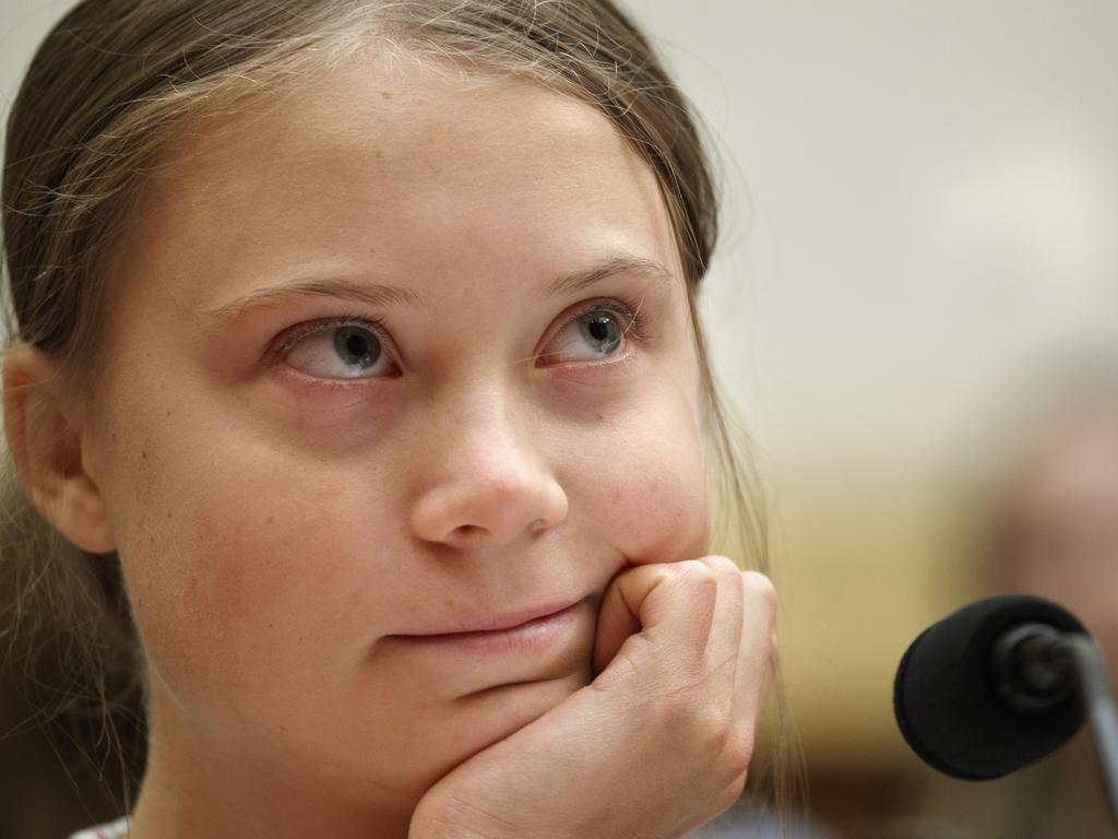 Greta Thunberg has become the poster child for environmental catastrophism Picture: Jacquelyn Martin