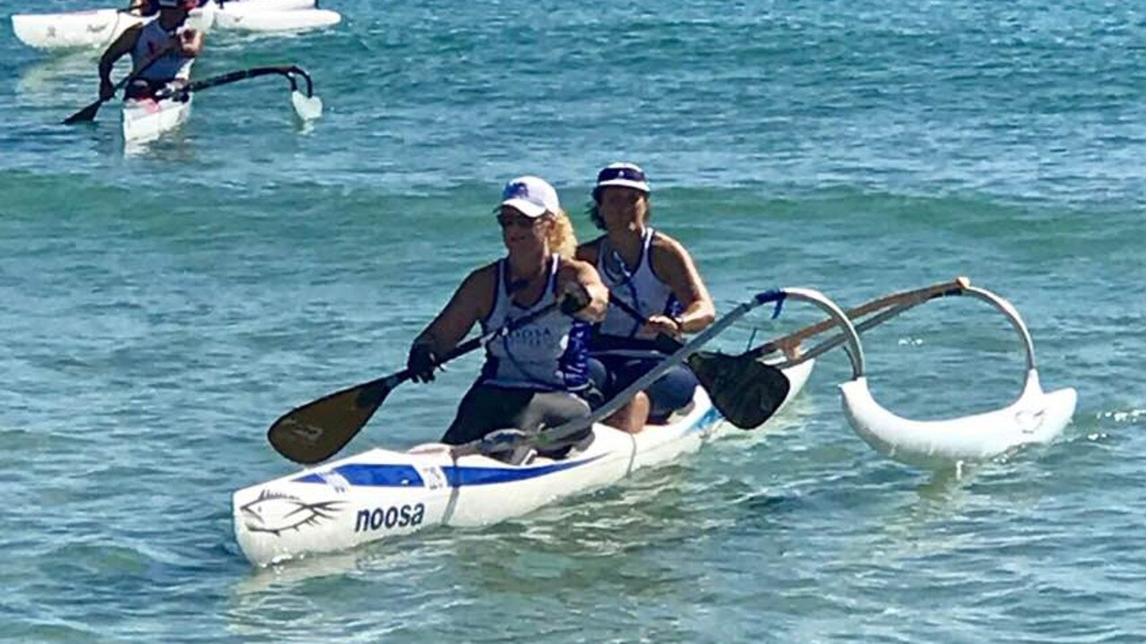 Action from the Noosa Outrigger season opener held in perfect conditions.