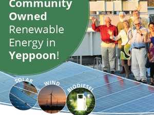 Gamechanging plan for community to own renewable energy