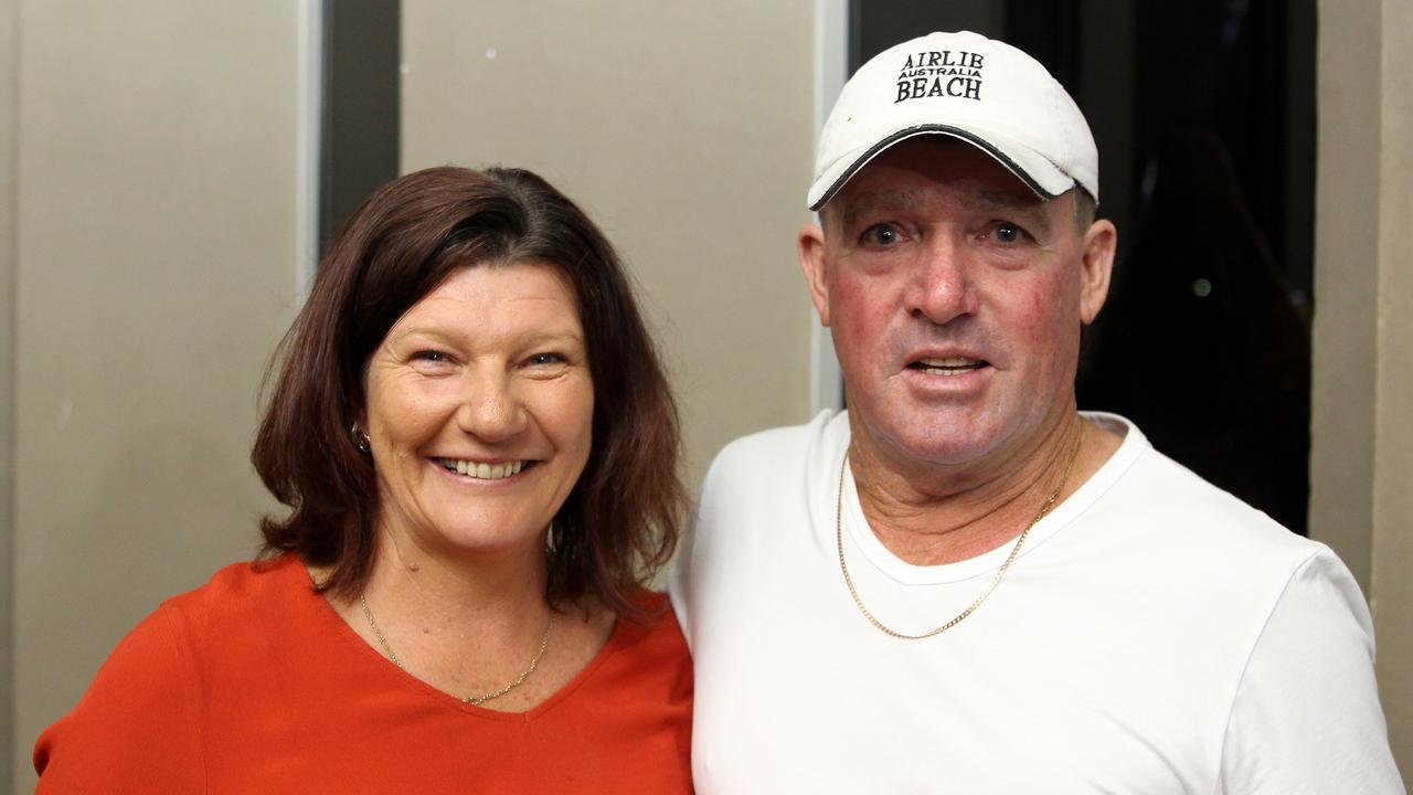 Kaylene Chetham and Gary Chetham at Jimmy Barnes's Shutting Down Your Town Tour concert at the MECC, Mackay. Photo: Steven Jesser
