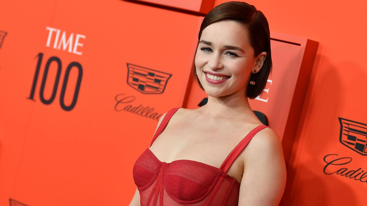 British actor Emilia Clarke. Picture: Angela Weiss/AFP