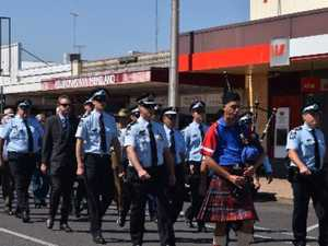 Marching to remember vital service