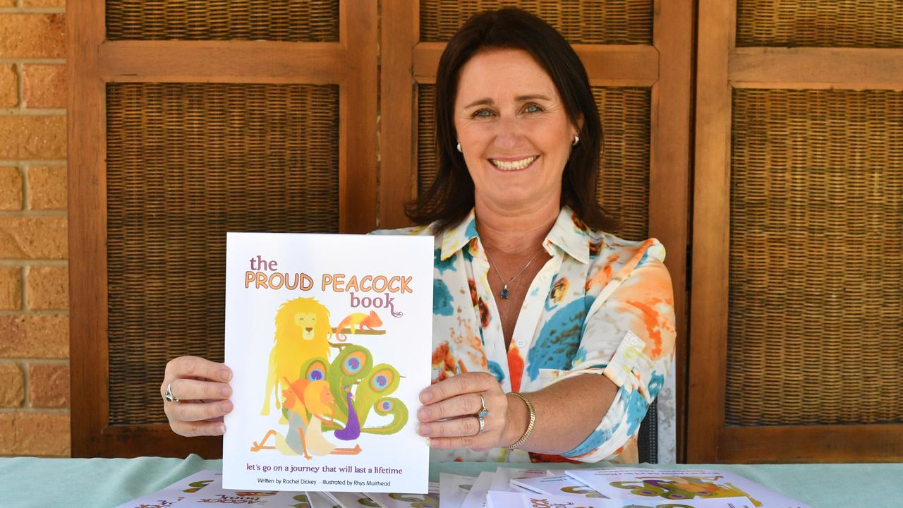 Proud Peacock founder Rachel Dickey has released her first children's book, The Proud Peacock Book.