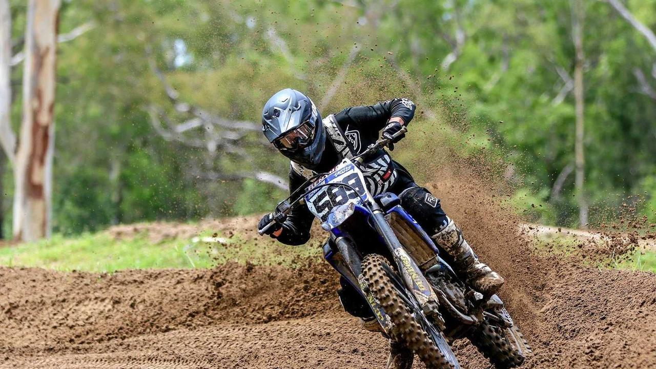 NUMERO UNO: Tye Shaw has placed first at the MPE Suspension Central Queensland Motocross Championships 2019. Picture: Contributed