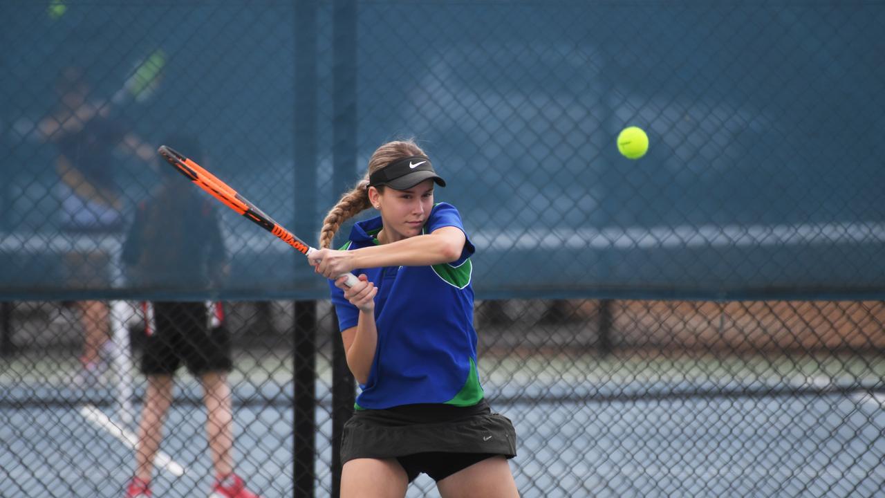 Tennis: TCC's Rahni Parle.